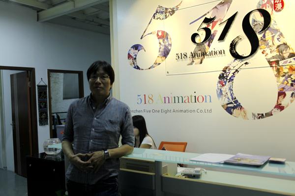 韩国漫画家河承男:中韩漫画要有更多的交流机会