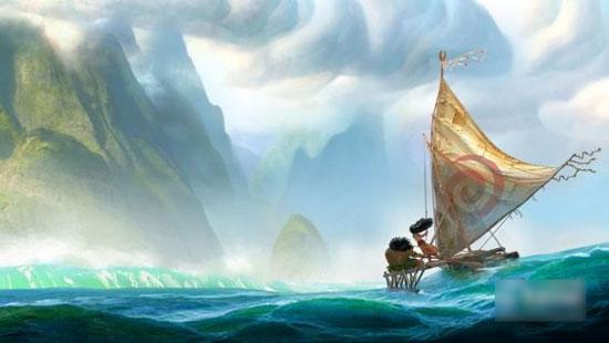 迪士尼公布动画新作《莫阿娜》概念图