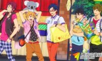 TV动画《Free!-ES-》将与三菱东京UFJ-VISA借记卡合作