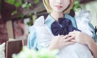 《LoveLive!》小泉花阳爱丽丝版COS