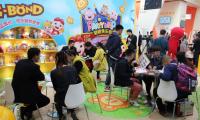猪猪侠乐园参加北京国际加盟展 家庭娱乐项目受关注
