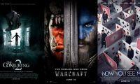 北美票房:《招魂2》轻松登顶 《魔兽》首周末居亚