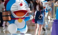 《哆啦A梦》电影主题展亮相南京