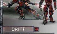 《变形金刚5》曝漂移战斗形态 暗红色机械武士闪亮登场!