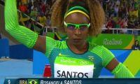 奥运女选手酷似《守望先锋》卢西奥