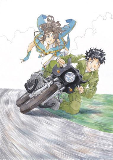 藤岛康介出道30周年纪念画集发售 网友关注交通工具