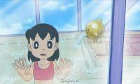 日本动漫《哆啦a梦》静香穿泳衣洗澡掀热议
