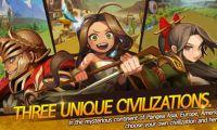 卡通动漫风格策略游戏《战争村》登陆双平台
