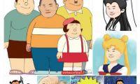 卡通版小岳岳走红 原型或为岳云鹏电商标志