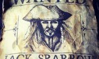《加勒比海盗5》曝杰克船长被通缉海报