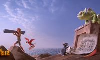 3D动画大片《鲁滨逊漂流记》合家欢乐暖心驱寒