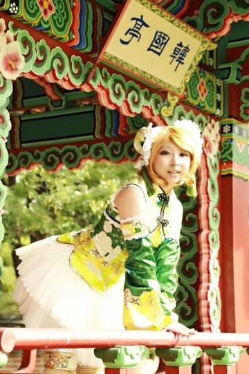 真正的美好世界!日本公园为COSER开放COSPLAY日