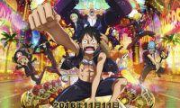日本动漫经典《航海王之黄金城》将在11月11日与内地观众见面
