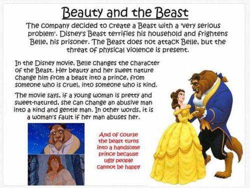 贝儿被家暴?英国老师痛批迪士尼的公主统统有问题
