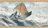 """《海洋奇缘》中国风海报:太平洋风情""""换新衣"""""""