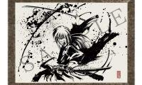 少年漫画《浪客剑心》将发售超具压迫力和动感的墨绘