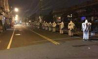 台湾马路惊现《僵尸先生》画面 民众差点吓尿了