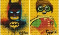 电影《乐高蝙蝠侠》再曝一组全新涂鸦海报