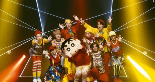滑稽爆笑!《蜡笔小新》推出动画25周年纪念主题曲真人MV