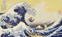 《哆啦A梦》宣布限量发售浮世绘