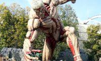"""《进击的巨人》""""铠之巨人""""的巨人像首度公开"""