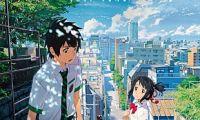 日本动画电影《你的名字》韩国二连冠