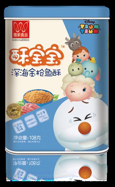 唯新食品酥宝宝迪士尼动漫IP萌宠包装,六款美图一次集齐