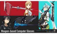 动画《刀剑神域》三款武器型镜脚的眼镜架开始接受预订
