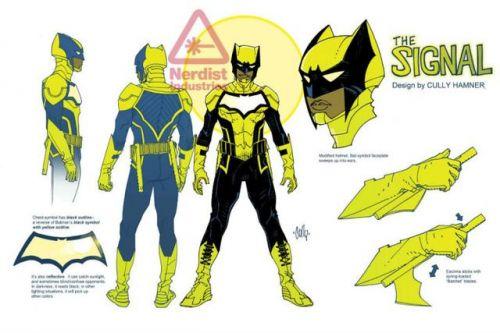 《蝙蝠侠:信号》公布 造型神似金刚狼