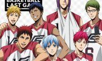 《黑子的篮球》将于9月27日发售蓝光和DVD光碟