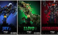 电影《乐高忍者大电影》公开新的角色海报