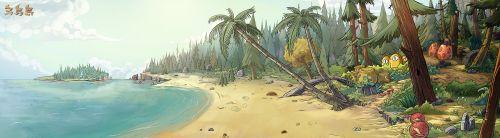 海岸.沙滩
