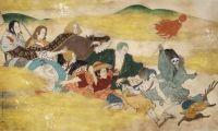 《航海王》与大觉寺合作 部分日本画和人设图公开