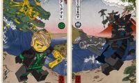 《乐高幻影忍者大电影》公开一组浮世绘风格的角色视觉图