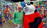 """""""漫威之父""""斯坦·李打造《熊猫大战外星人》"""