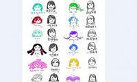 网友绘制《宝石之国》声优&角色对比图