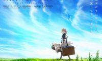 《紫罗兰永恒花园》动画官方公布新宣传绘和第4弹PV