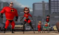 《超人总动员2》超能家族变身冰雪健将 冬奥会特别预告曝光