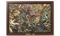 大人气动漫《航海王》推出浮世绘风格的剪纸画