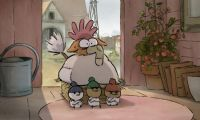 法国高分动画《大坏狐狸》提前点映 水彩手绘风独树一帜
