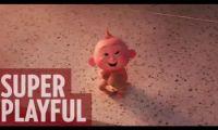 皮克斯动画电影《超人总动员2》新片段公开