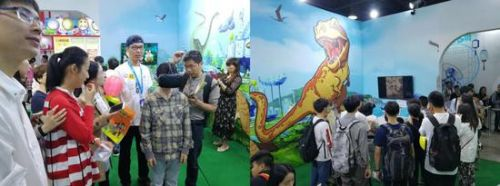 《酷杰的科学之旅》主题VR体验吸引众多观众参与