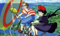 宫崎骏动画长片中出现飞行意象的就有9部