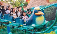 珠海长隆海洋王国三大动漫游客设施全面开放