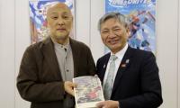 台中市政府拜会日本动画协会 交流台日动画产业