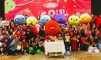 """人气动画《小鸡彩虹》主创团队在杭州举办""""GO!红!生日会"""""""
