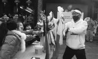 传统木偶邂逅动漫 台湾布袋木偶分外吸睛