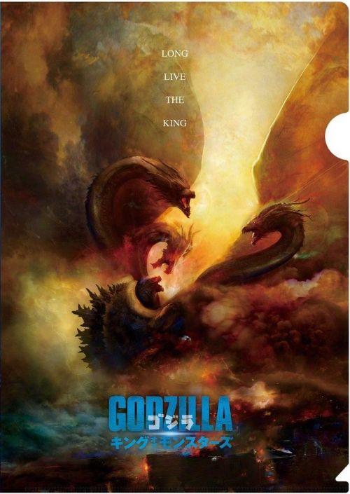 电影《哥斯拉2:怪兽之王》曝日本版海报 双王霸气比拼