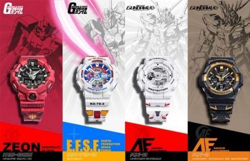 动漫《机动战士高达》系列诞生40周年纪念手表
