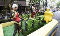 杭州动漫节彩车巡游时间定于5月4日